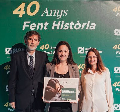 Primer premio del ahorro solidario de Caixa Popular y Red Enclau