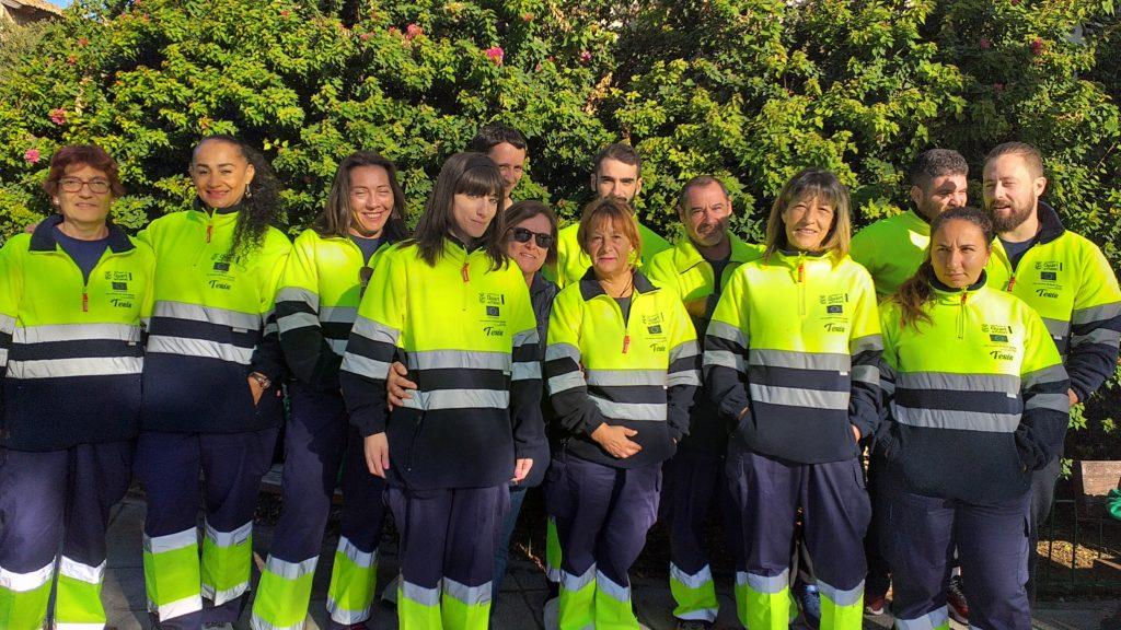 Finaliza el curso del certificado de profesionalidad de Limpieza en espacios abiertos e instalaciones industriales
