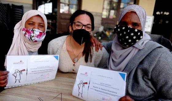 Nuestras alumnas finalizan otra edición del curso de limpieza hospitalaria