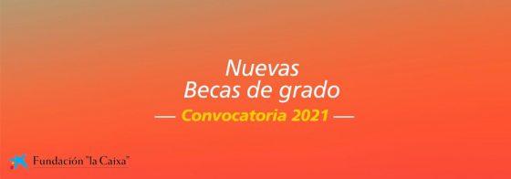 Abierta convocatoria de becas para estudios de grado de Fundación «la Caixa»