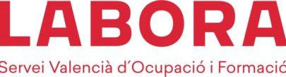 Logo LABORA rojo